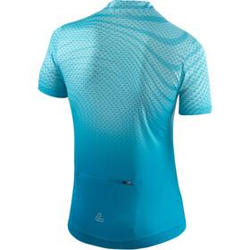 Löffler Java Bike Shirt Half-Zip Damen topazblue